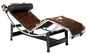lc4 chaise lounge cowhide design within reach