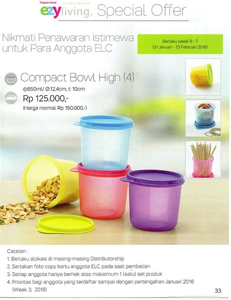 Season Saver By Tupperware katalog regular tupperware 2016 katalog promo tupperware februari 2016 terbaru