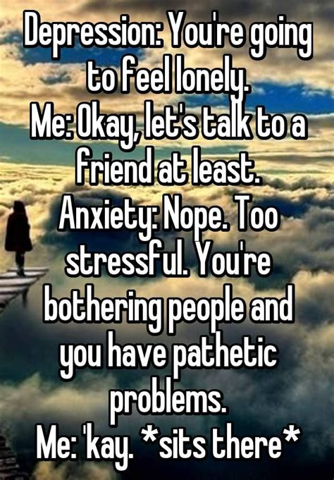 Feeling Lonely Memes - top 25 best night anxiety ideas on pinterest stiff knee