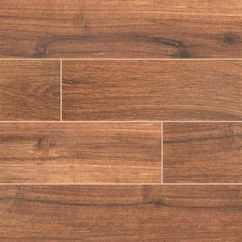 3 50 palmetto porcelain 6x36 quot chestnut wood look tile