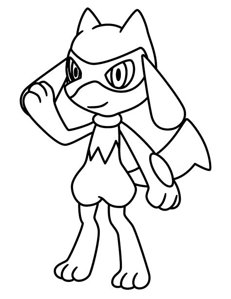 pokemon coloring pages riolu coloring page tv series coloring page pokemon diamond