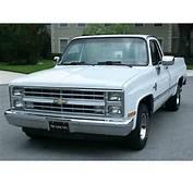 1987 Chevrolet Silverado For Sale  ClassicCarscom CC