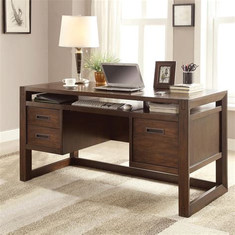 Home Office Furniture Computer Desk Riverside Home Office Computer Desk 75831 Blockers Furniture Ocala Fl
