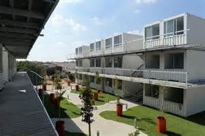 Multi Unit House Plans israelis turn shipping containers into sustainable homes