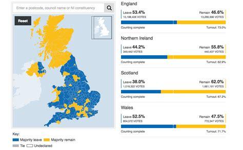 map uk eu referendum results brexit eu referendum political economic social analysis