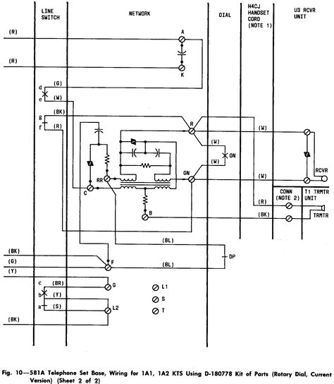 telephone handset wiring diagram efcaviation
