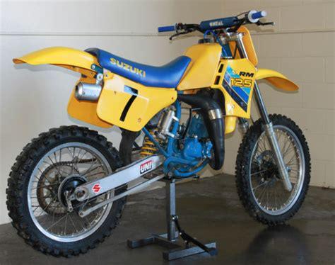 1986 Suzuki Rm 125 1986 Suzuki Rm 125 G