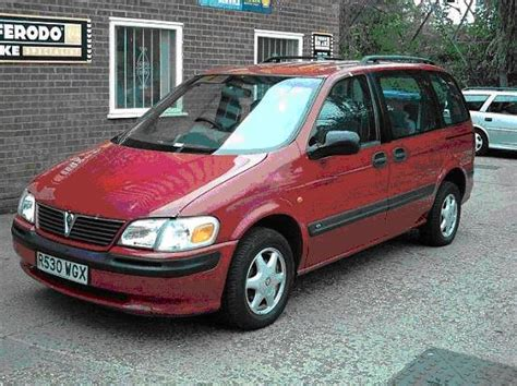 opel sintra vauxhall sintra photos informations articles
