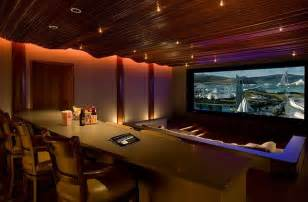 custom home theater with