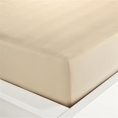 printable fabric sheets nz 225 thread count fitted sheet double bed almond kmart