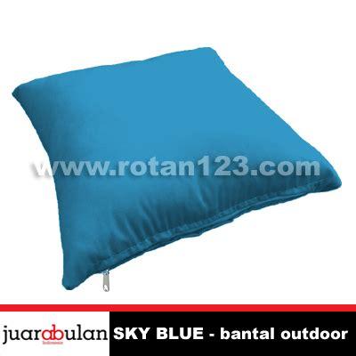 Kain Katun Solid Sky Blue harga jual kain bantal sofa outdoor sky blue model gambar