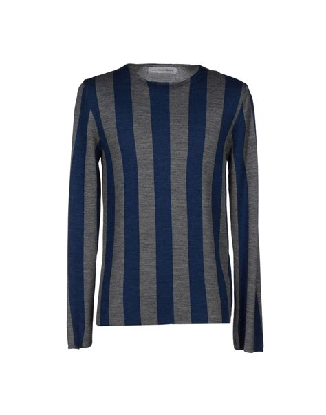 Sweater Comme Des Garcons Zalfa Clothing comme des gar 231 ons sweater in blue for lyst