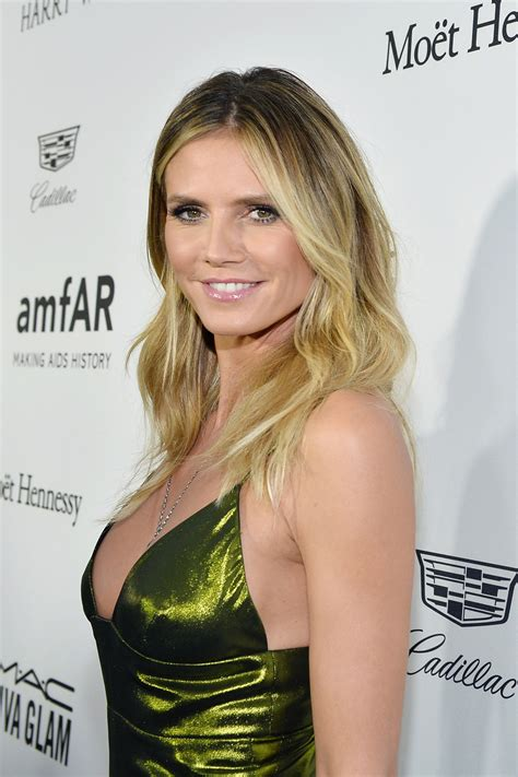 Heidi Klum by Heidi Klum In Wolk Morais At Amfar S Inspiration Gala Los