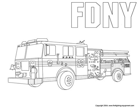 free coloring pages of preschool fire truck free fire truck coloring pages coloring pages