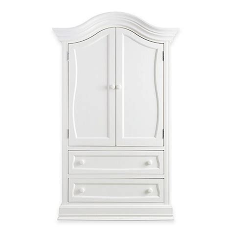 white baby armoire baby appleseed 174 davenport armoire in pure white www