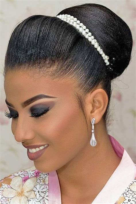 17 best ideas about black wedding hairstyles on