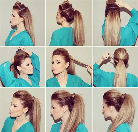ponytail hairstyles for party new women hairstyle party ponytail 2015