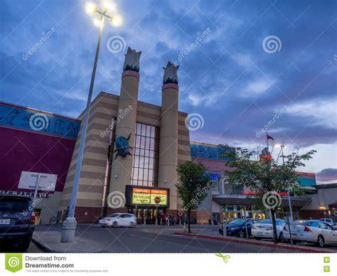 cineplex in calgary cineplex movie theatre at chinook centre mall editorial