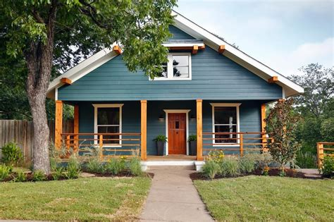 blue craftsman house 50 house colors to convince you to paint yours