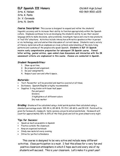 images  spanish iii worksheets present
