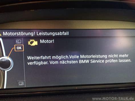 Bmw 1er Antrieb Fehler by Motorst 246 Rung Leistungsabfall Bmw 3er E90 E91 E92 E93