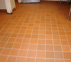 Commercial Kitchen Tile - commercial kitchen tile floor after cleaned grout and sanitized before amp after photos a