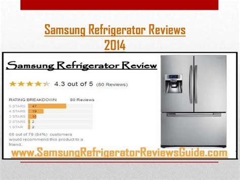 unbiased customer reviews on samsung refrigerators refrigerator rev