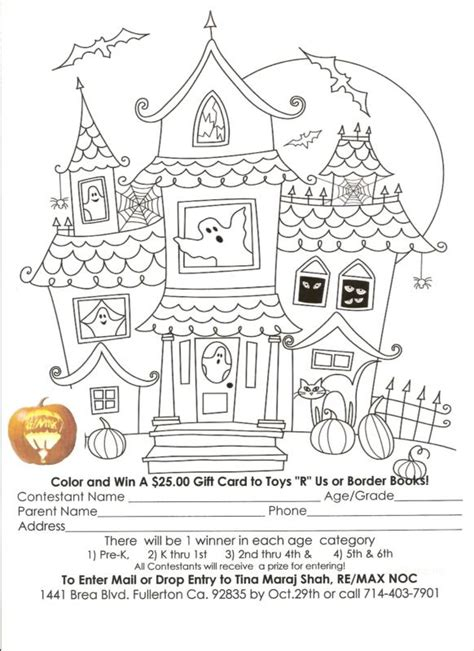 halloween coloring contest festival collections