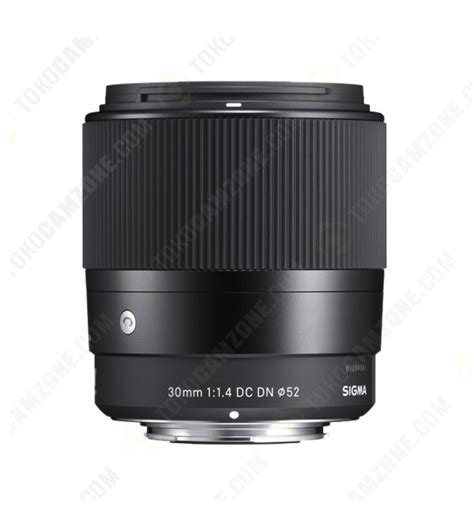 Lensa Sigma 30mm F 1 4 sigma 30mm f 1 4 dc dn contemporary lens for sony e