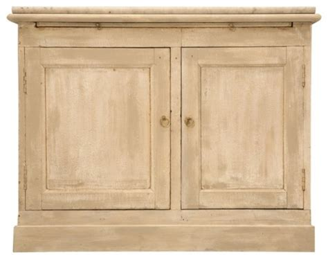 Farmhouse Pantry Cabinet by Antique Two Door Pastry Counter With Marble