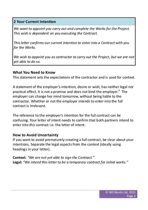 Letter Of Intent To Form Jv 3 Clauses You Need To Kick Out Of Your Letter Of Intent