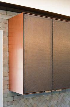 Perforated Cabinet Doors Murdock Architects Further Kitchen Contemporary Cabinet Doors Made From Perforated