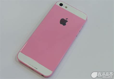 Iphone 5 5s Pink pink iphone 5 found in hong kong mobile phone grey market