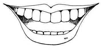 Mouth Coloring Pages  GetColoringPagescom sketch template