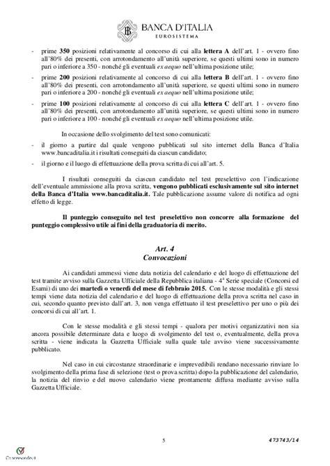 bando concorso d italia concorso 60 coadiutori d italia bando