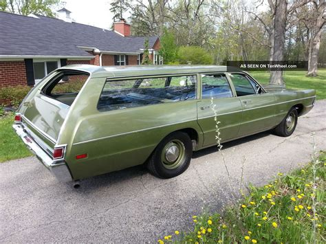 Sleeper Wagon by 1970 Plymouth Fury Suburban Sleeper Wagon