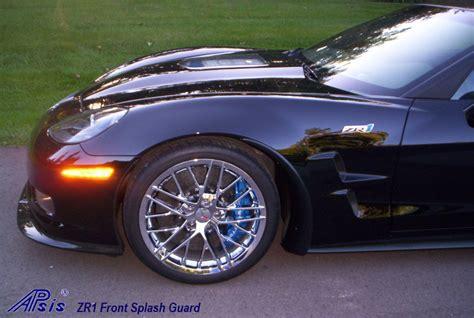 apsis corvette apsis corvette c6 zr1 front splash guards pair lr