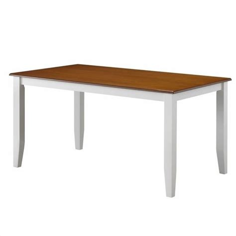 boraam bloomington white honey oak dining table ebay