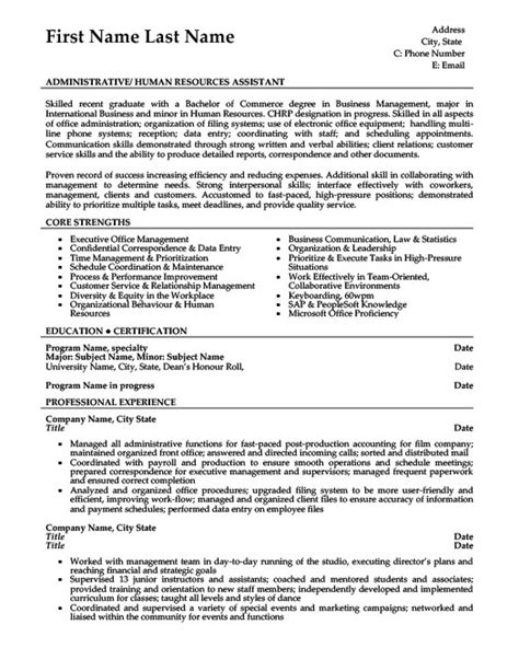 Administrative Assistant Resume Template by Administrative Assistant Resume Template Premium Resume