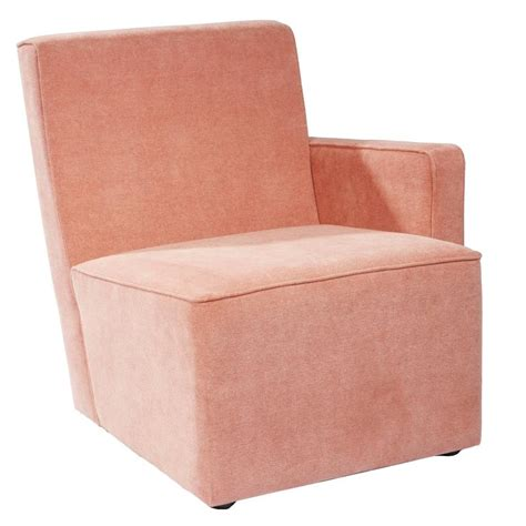 brancusi armchair armchair quot petit frank quot pink by herv 233 langlais for galerie