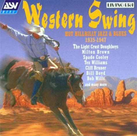 western swing artists various artists western swing hot hillbilly jazz blues cd