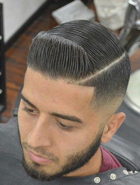 Low fade haircut black men