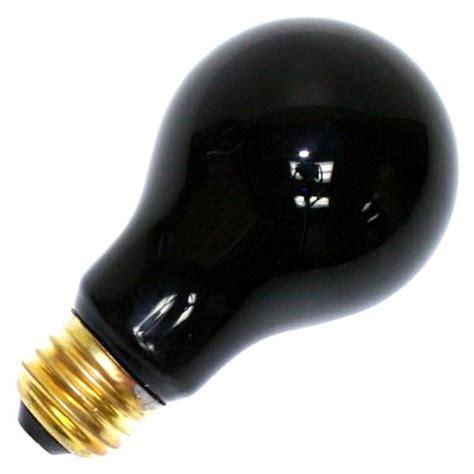 60 watt 120 volt light bulb sylvania 11715 60a blacklight rp 120v incandescent black