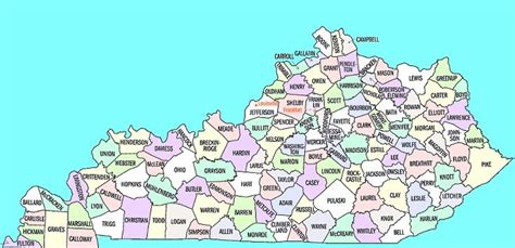 rowan county ky map click   county  find  kacdl criminal defense lawyer   map