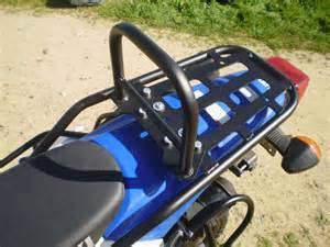 drz400s sm xl rear luggage rack w removable sissy bar drz