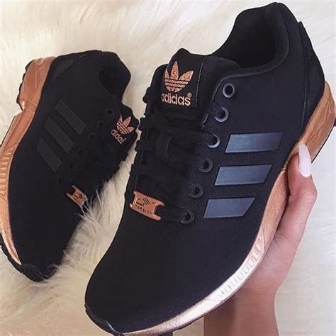 black and gold adidas sneakers 17 adidas shoes adidas zx flux black and gold