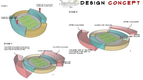 Floor Plan Architect by A New Stadium For Nigeria Chronos Studeos