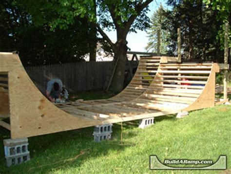 backyard bmx rs how to build a halfpipe in your backyard 28 images