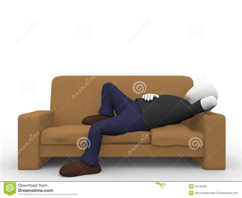 lying in the sofa man lying in the sofa stock photos image 24740003