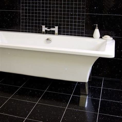 Black Bathroom Floor Tiles Gemstone Black Wall And Floor Tilegemstone Black Wall And Floor Tile Black And White Bathroom